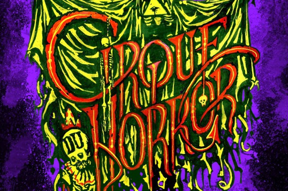 Cirque du horror poster art